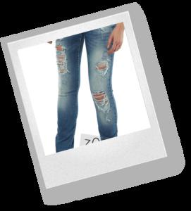 Как порвать джинсы красиво дома?