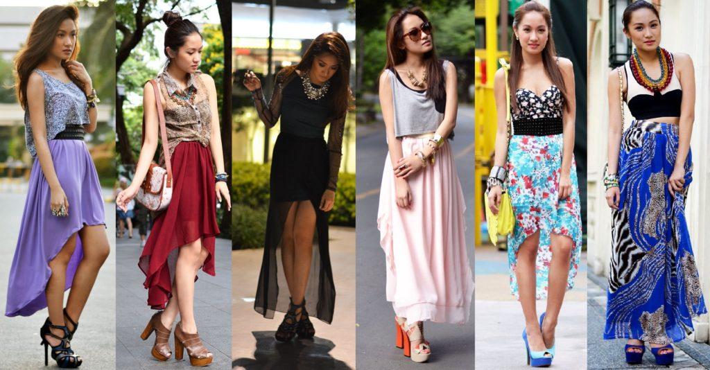 модная одежда для худых