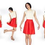 С чем носить красную юбку лучше всего и что сочетается?