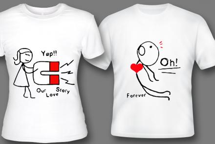 Современная печать на футболках