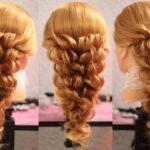 Красивые прически на средние волосы